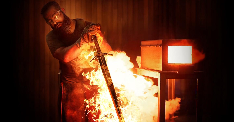 Forjado a fuego