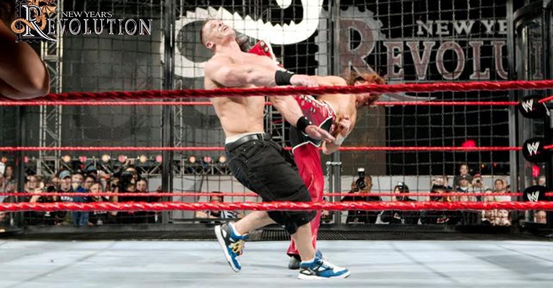 WWE New Year's Revolution 2006