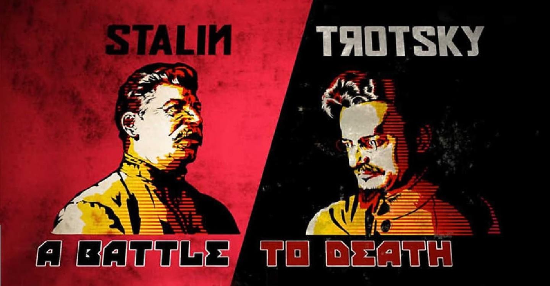 Stalin - Trostky: Un duelo a muerte