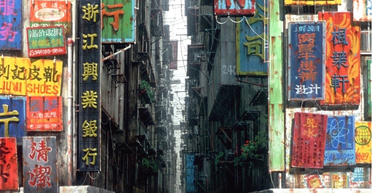 Ghost in the Shell backdrop 1