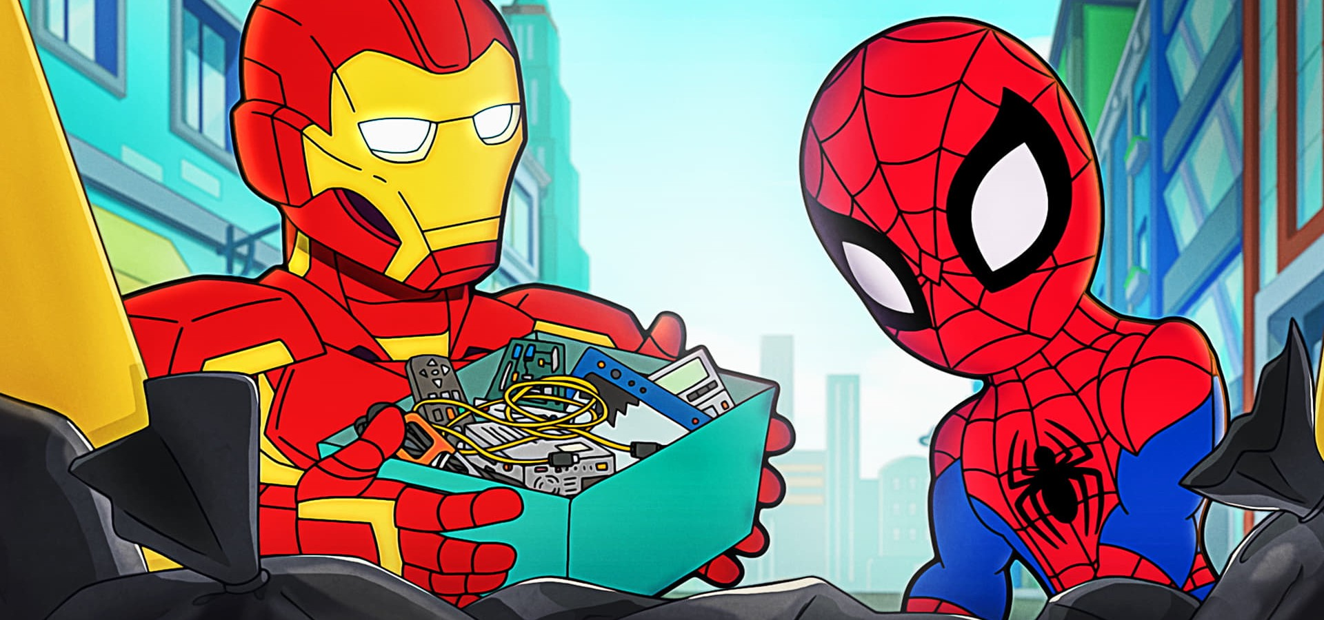 Aventuras de los superhéroes de Marvel