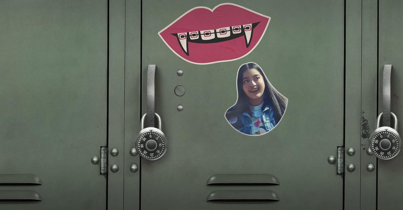 Dentes de vampiro a crescer