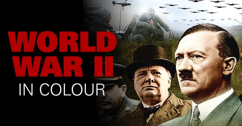 La II Guerra Mundial en color