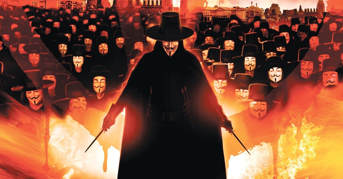 V for Vendetta backdrop 1