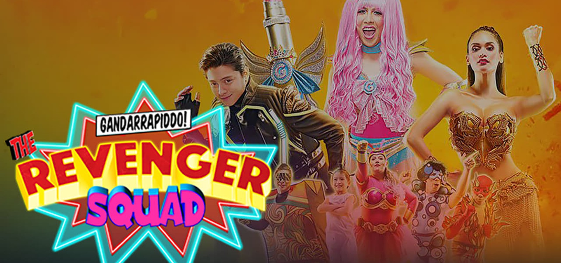 Gandarrapiddo!: The Revenger Squad