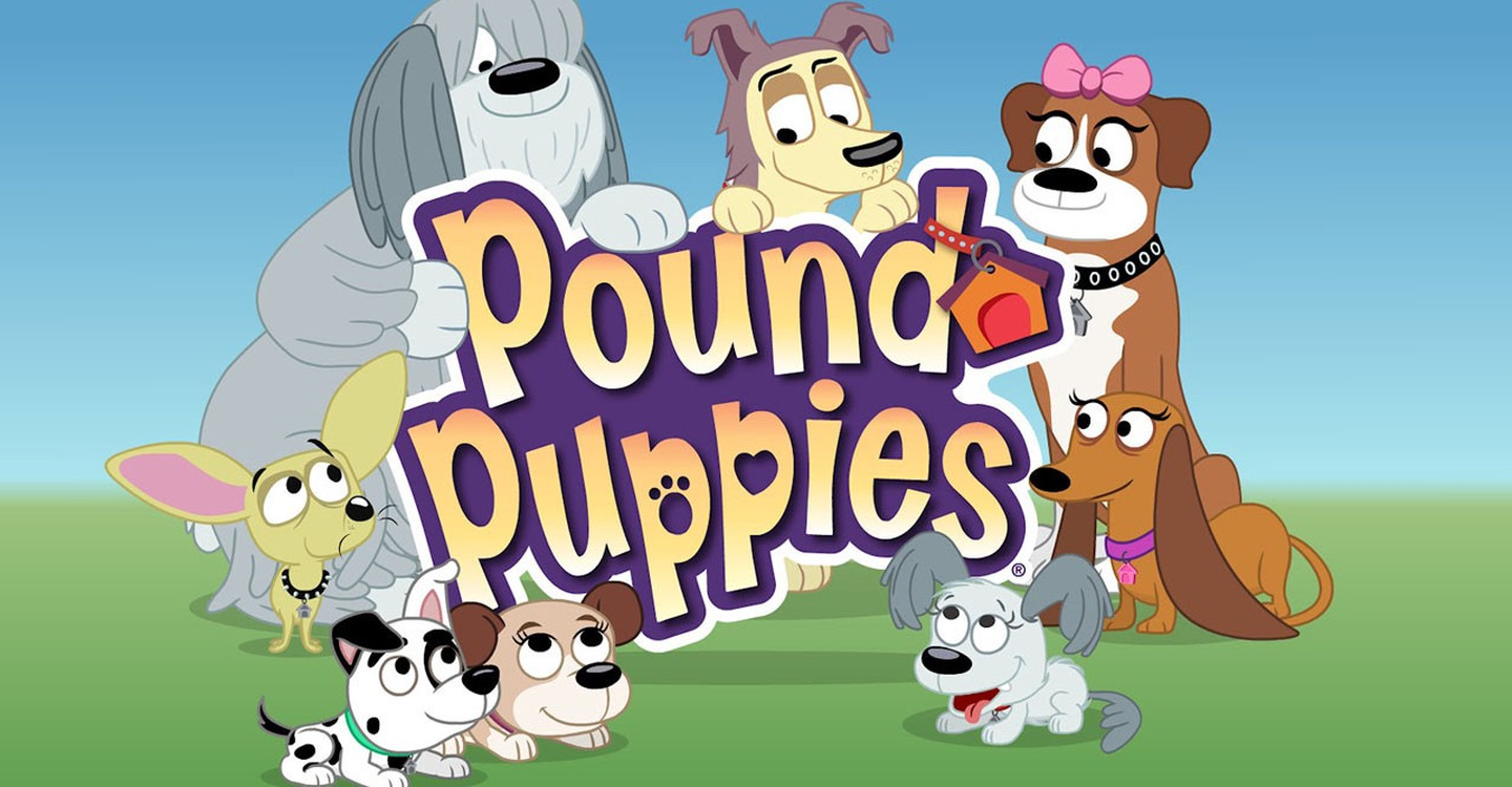 30  Beautiful Pound Puppies Cartoon