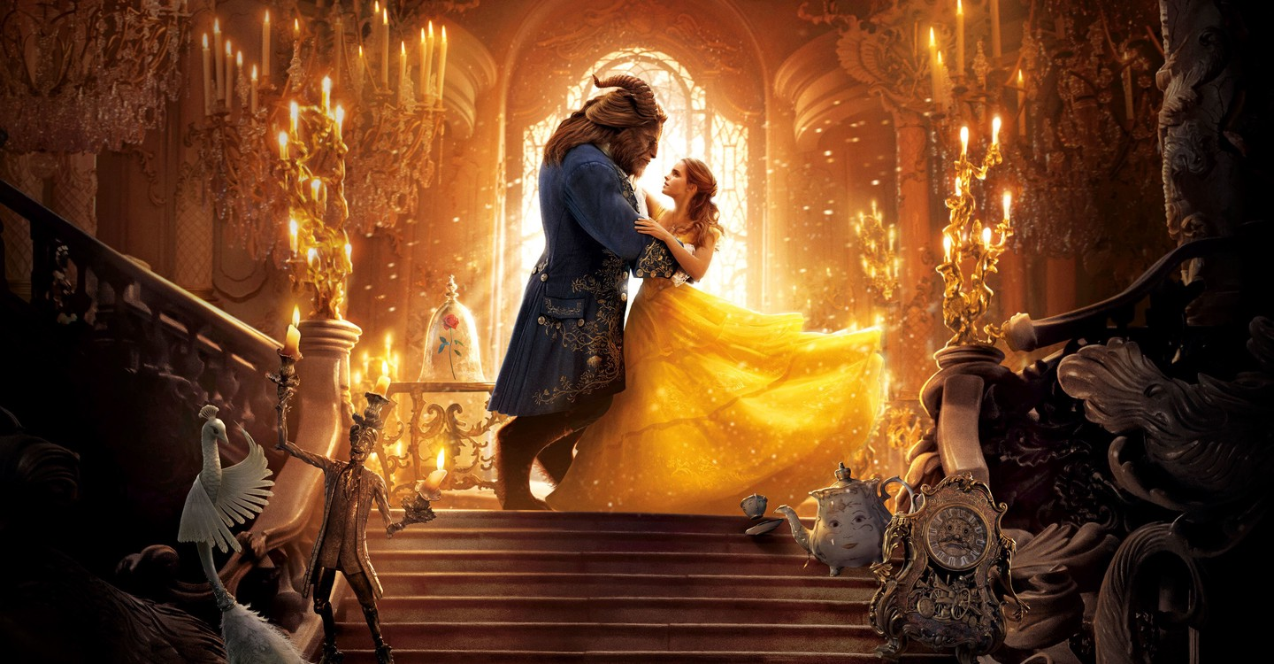 Beauty and the Beast backdrop 1
