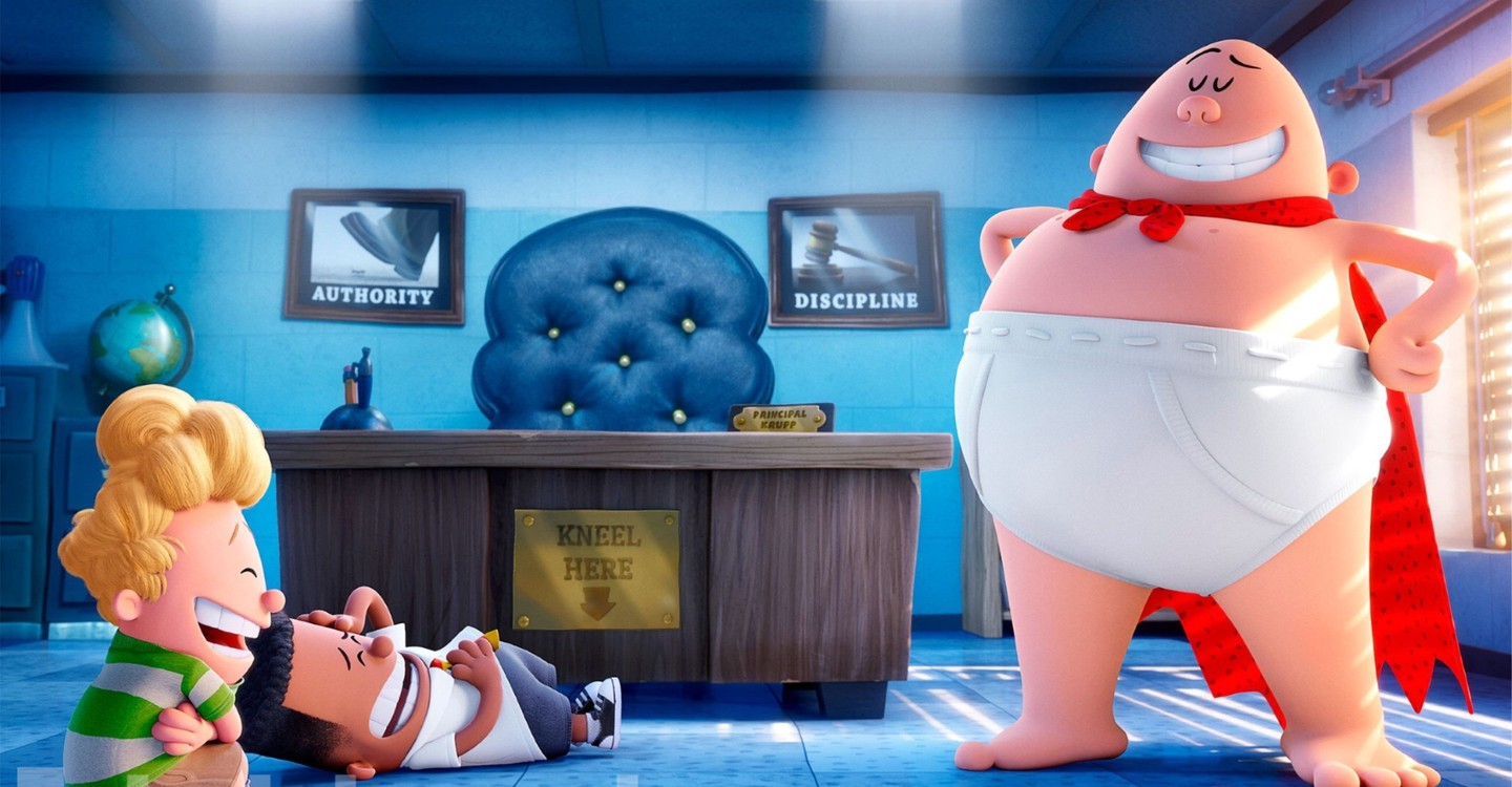 Captain Underpants: The First Epic Movie backdrop 1