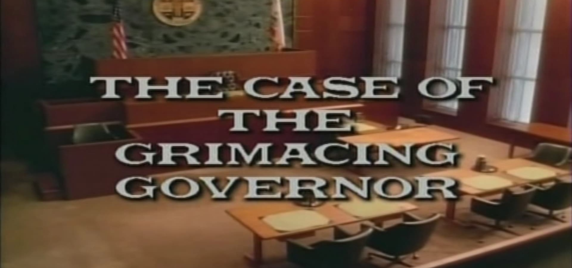 Perry Mason: The Case of the Grimacing Governor