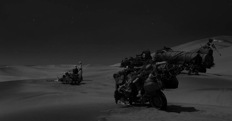 Mad Max: Fury Road Black & Chrome