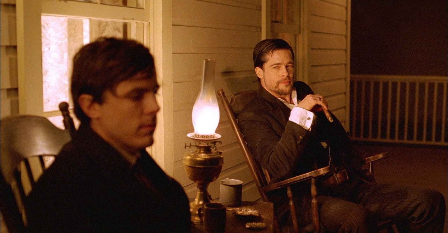 The Assassination of Jesse James by the Coward Robert Ford backdrop 1
