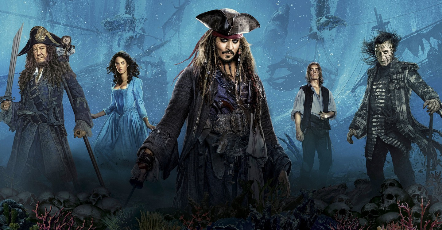 Pirates of the Caribbean: Dead Men Tell No Tales backdrop 1