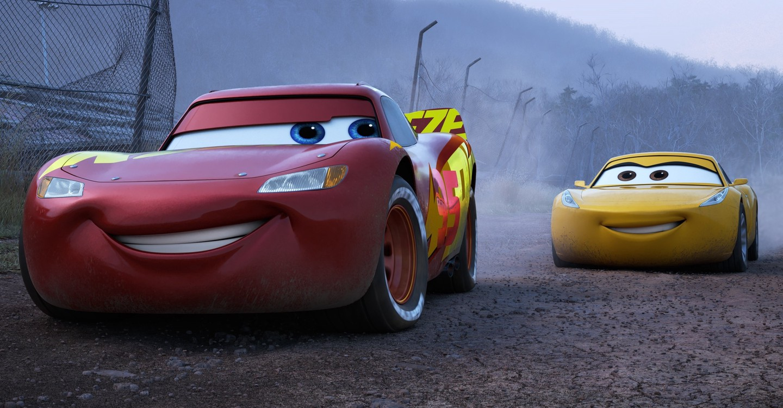Cars 3 backdrop 1