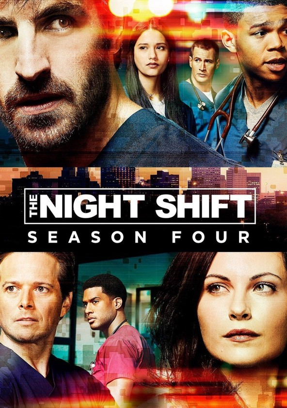 The Night Shift Season 4 poster