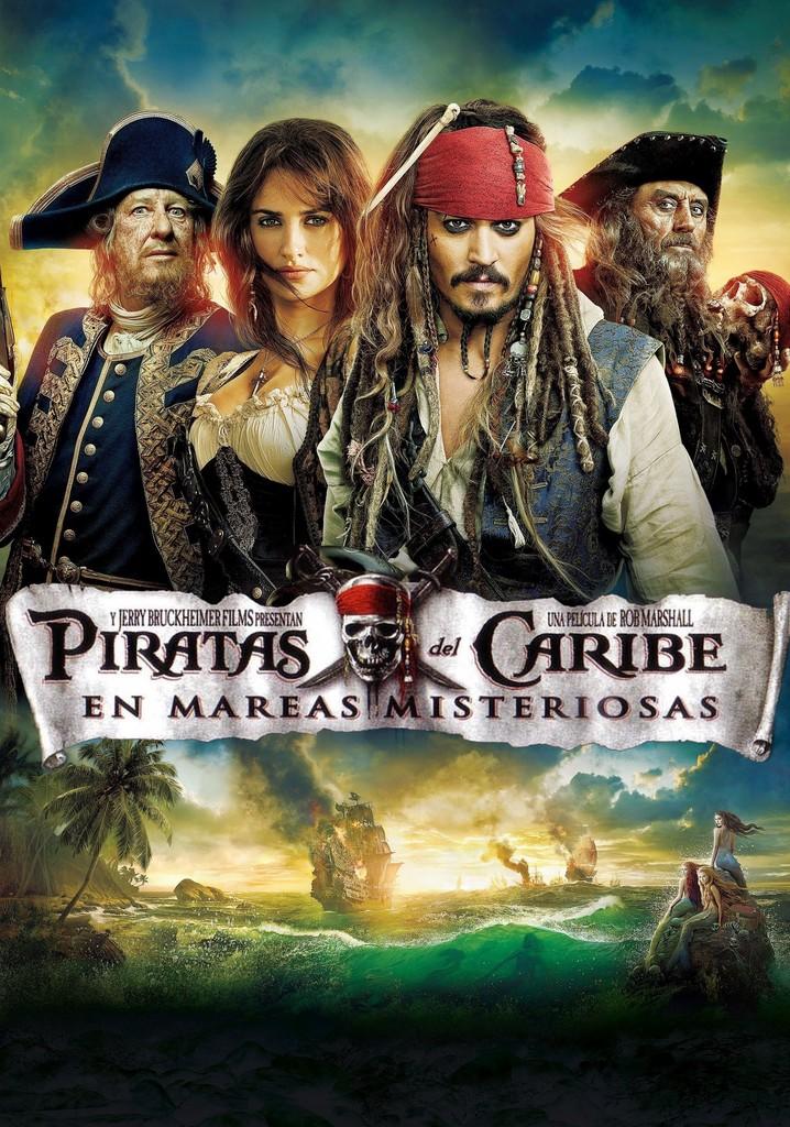 Piratas del Caribe: En mareas misteriosas