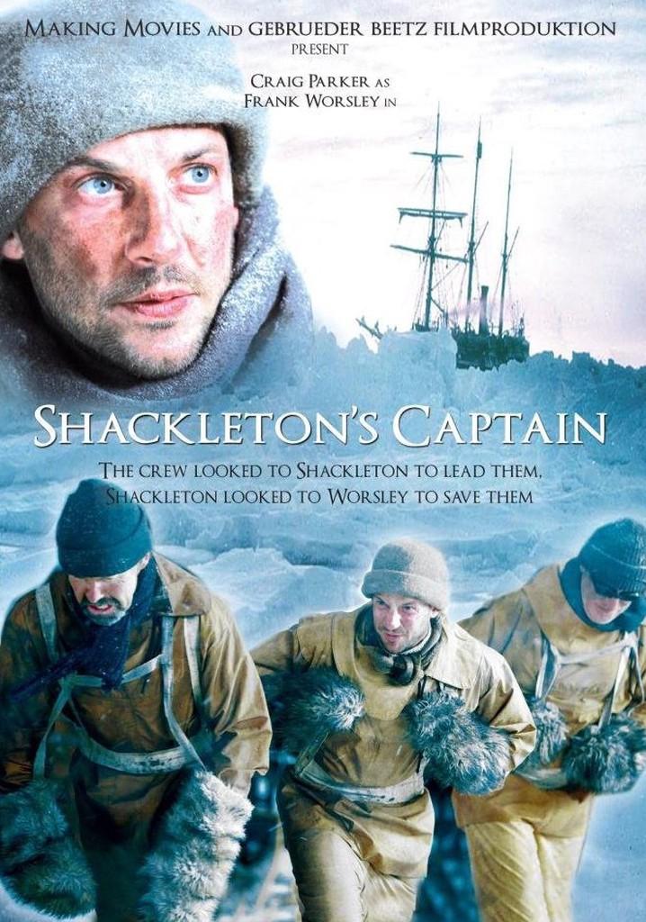 El capitán Shackleton