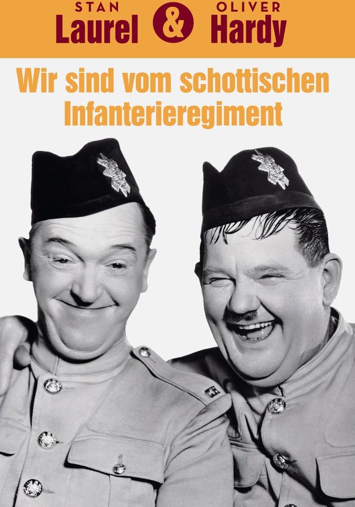 Dick und Doof - Wir sind vom schottischen Infanterie-Regiment