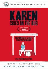 Karen llora en el bus