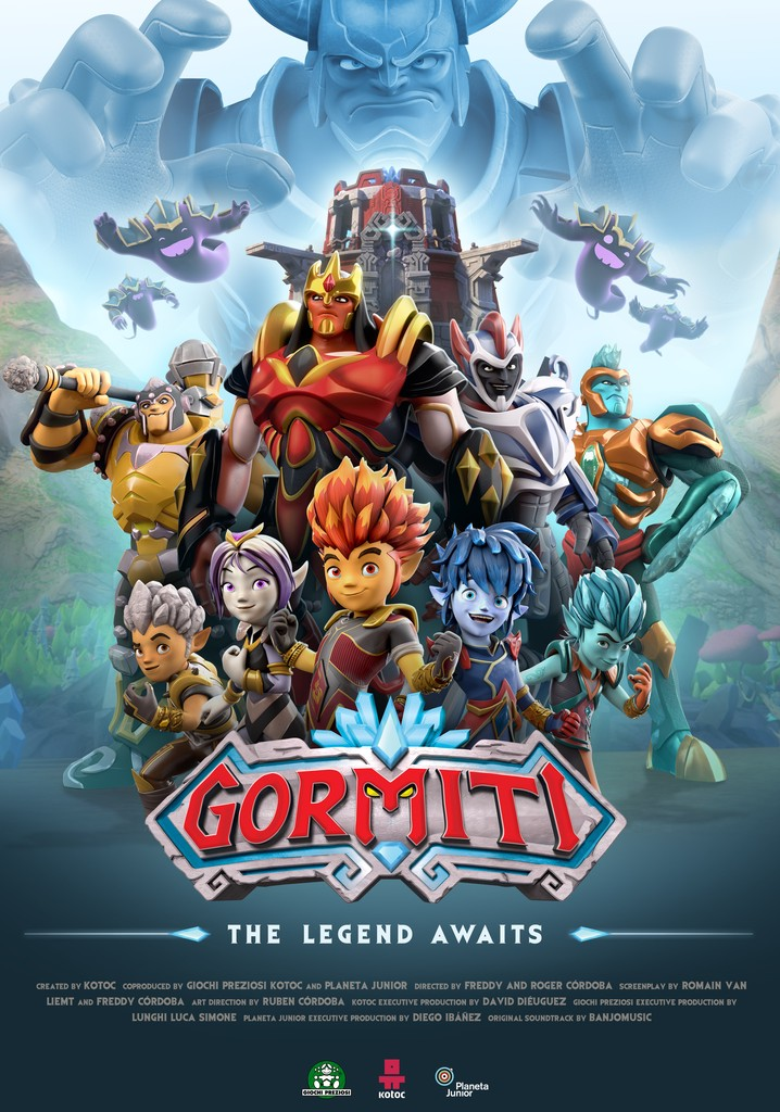 Gormiti: The Lords of Nature Return