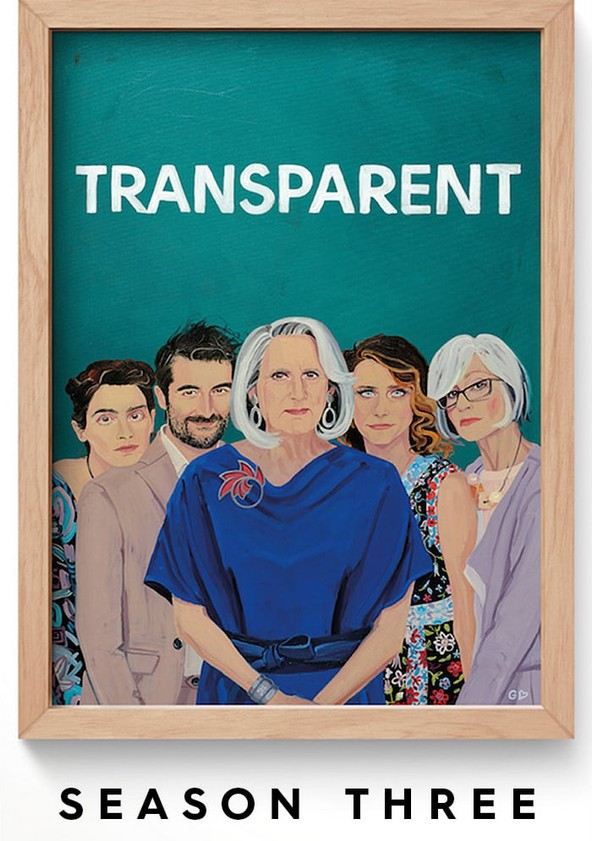 Transparent Season 3 poster