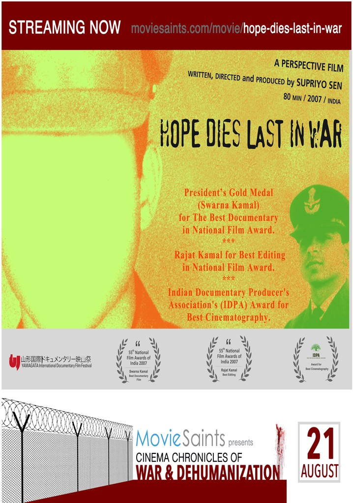 Hope Dies last in war