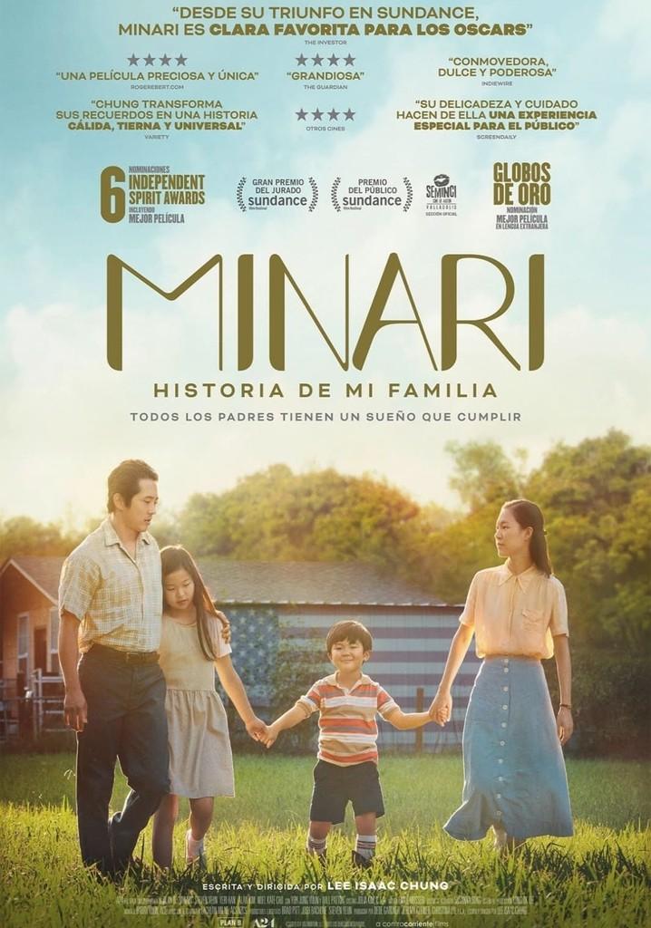 Minari. Historia de mi familia