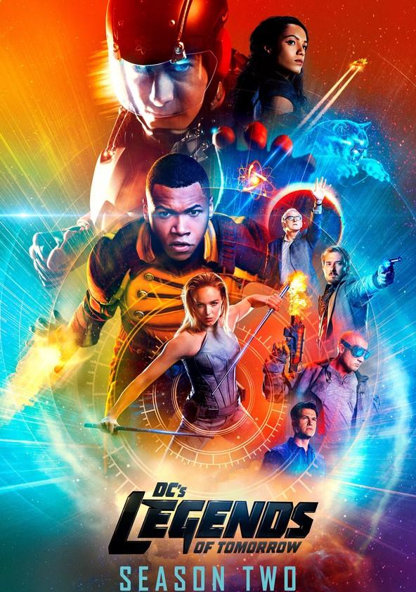 DC's Legends of Tomorrow Season 2 poster