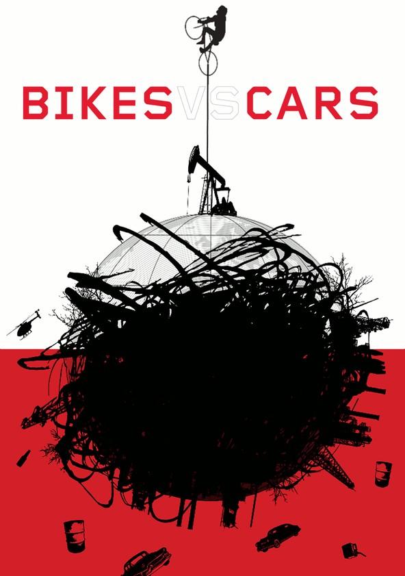 Bicicletas vs coches poster