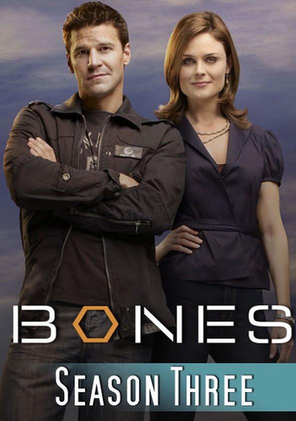 Bones Season 3 poster
