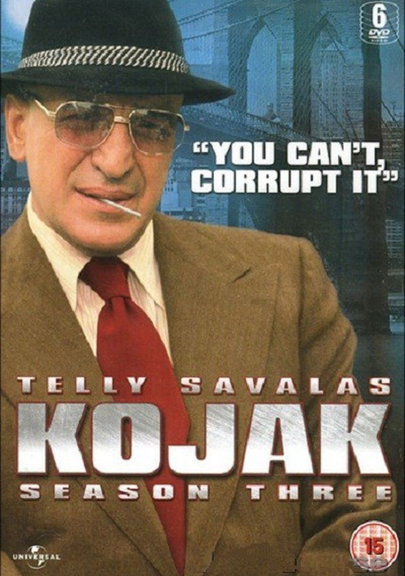 Image result for kojak season three