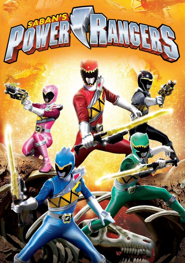 Power Rangers poster