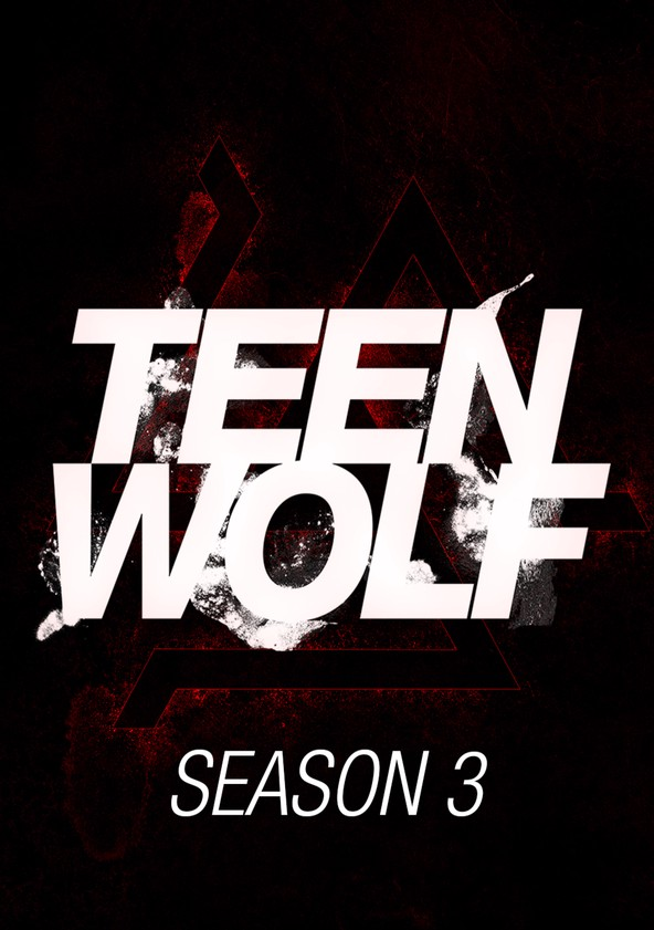 Teen Wolf Temporada 3 poster