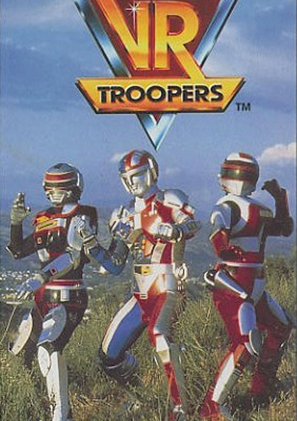 VR Troopers poster