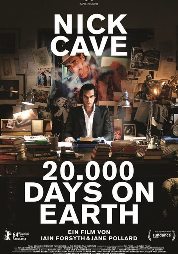 20.000 Days on Earth poster