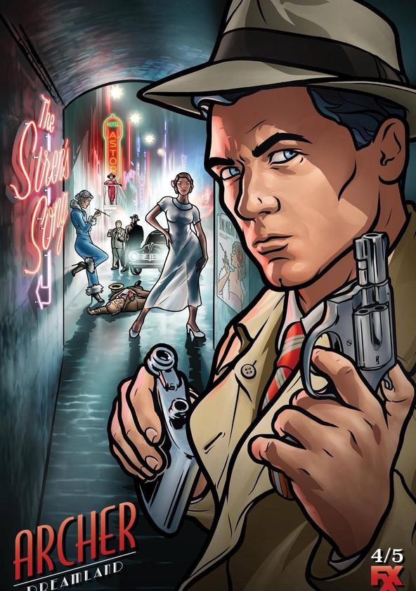 Archer Season 8: Dreamland poster