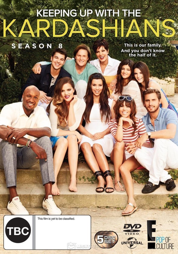 Keeping Up with the Kardashians Season 8 poster