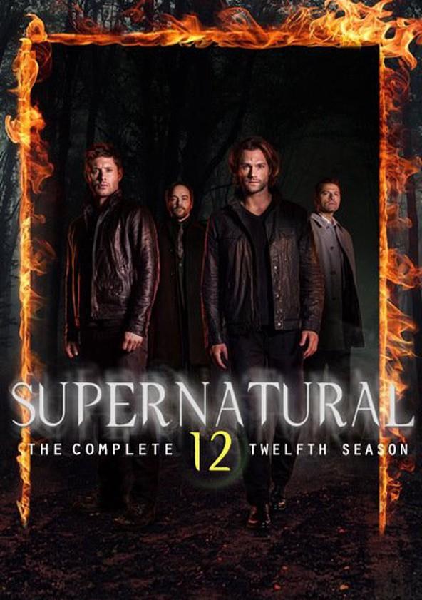 Sobrenatural Temporada 12 poster