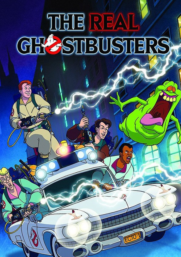 The Real Ghostbusters poster