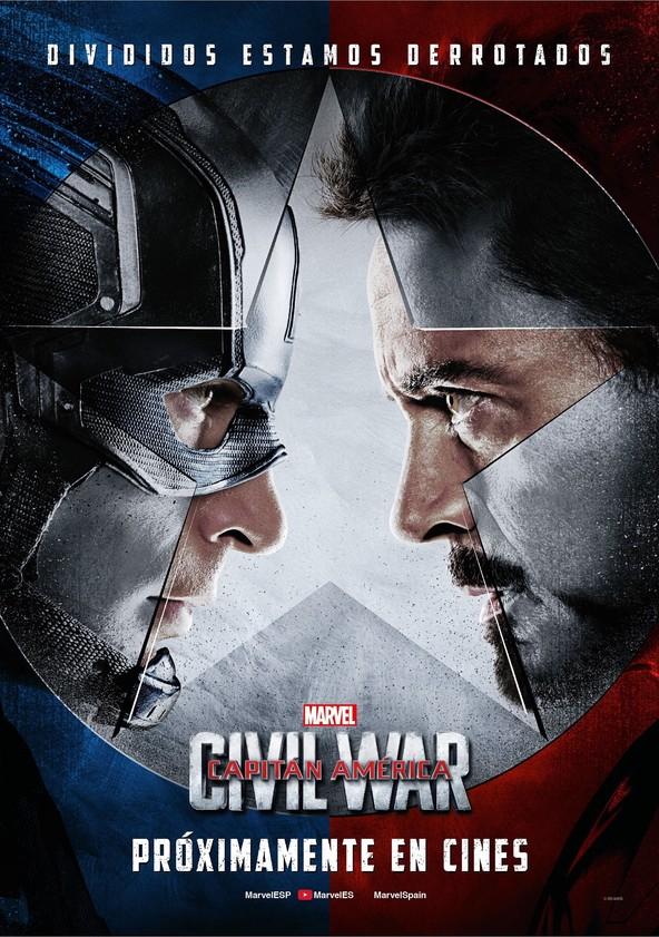 Capitán América: Civil War poster